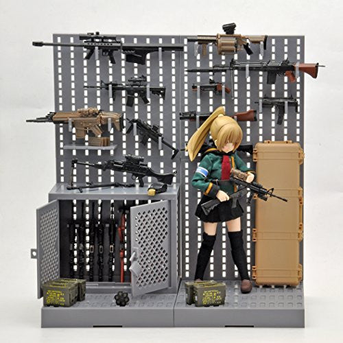 Image 6 for 1inch - Little Armory LD002 - Gun Rack A - 1/12 (Tomytec)
