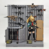 Thumbnail 6 for 1inch - Little Armory LD002 - Gun Rack A - 1/12 (Tomytec)