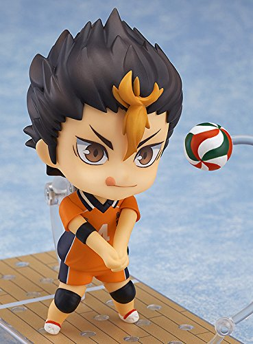 Image 4 for Haikyuu!! Second Season - Nishinoya Yuu - Nendoroid #592 (Orange Rouge)