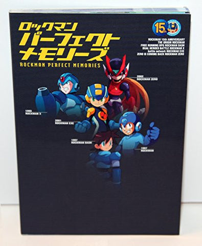 Mega Man Rockman Perfect Memories Art Book