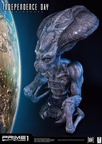 Image 9 for Independence Day: Resurgence - Alien - Bust - Life-Size Bust LSIDR-01 - 1/1 (Prime 1 Studio)