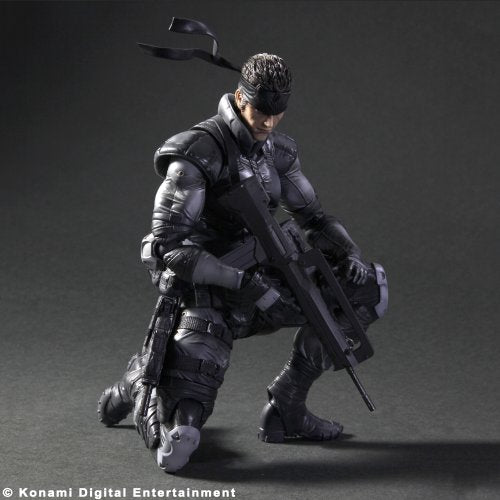 Image 2 for Metal Gear Solid - Solid Snake - Play Arts Kai (Konami Square Enix)