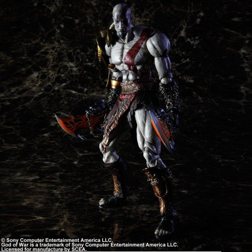 Image 3 for God of War - Kratos - Play Arts Kai (Square Enix)