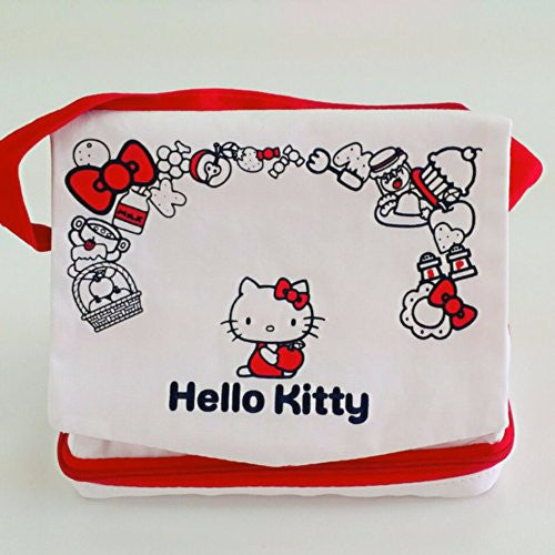 Image 2 for Hello Kitty Odekake Pouch for 3DS LL (Red)