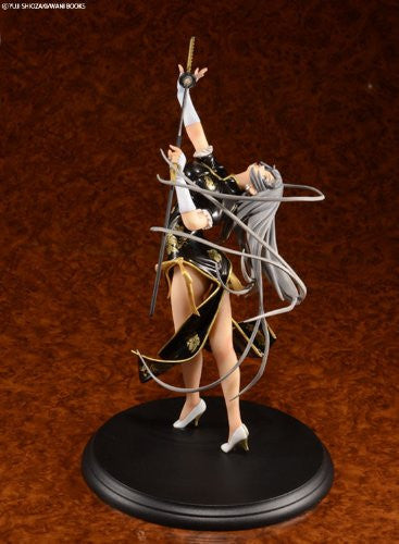 Image 5 for Ikki Tousen - Chouun Shiryuu - 1/7 - China Dragon Dress Black ver. (BEAT)