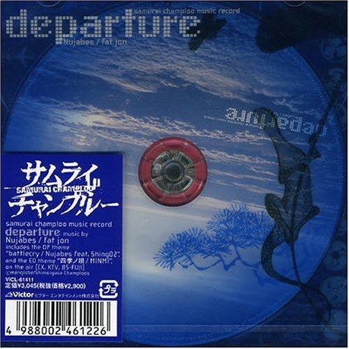 Image 1 for samurai champloo music record: departure
