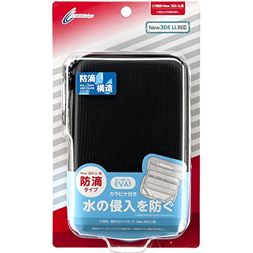 Image 1 for Waterproof Semi Hard Case for New 3DS LL (Black)