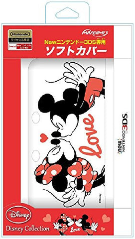 Image for Soft Cover for New Nintendo 3DS (Mickey & Minnie)
