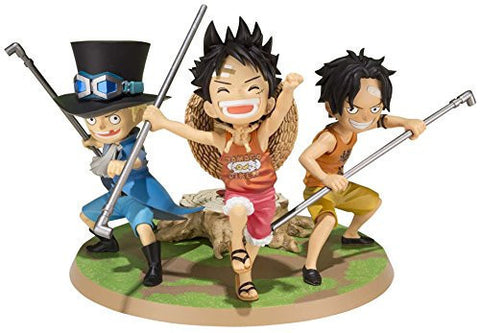 Image for One Piece - Monkey D. Luffy - Portgas D. Ace - Sabo - Figuarts ZERO (Bandai)