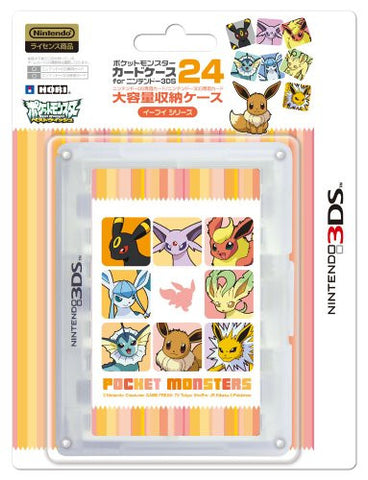 Image for Pokemon Card Case 24 for 3DS (Eievui Series Version)