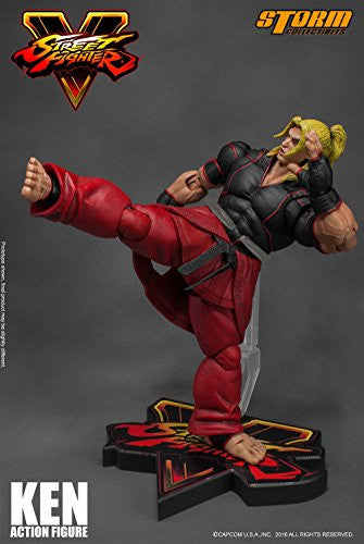 Image 6 for Street Fighter V - Ken Masters - 1/12 (Storm Collectibles)