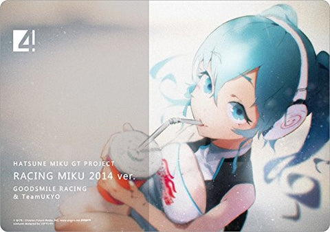 Image for GOOD SMILE Racing - Hatsune Miku - Mousepad 5 - Racing Miku 2014 (Gift)