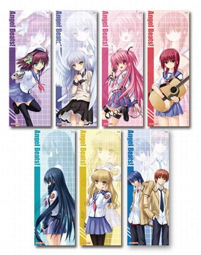 Image 1 for Angel Beats! - Yuri - Angel Beats! - Tanzaku Poster Set - Poster (Toy's Planning)