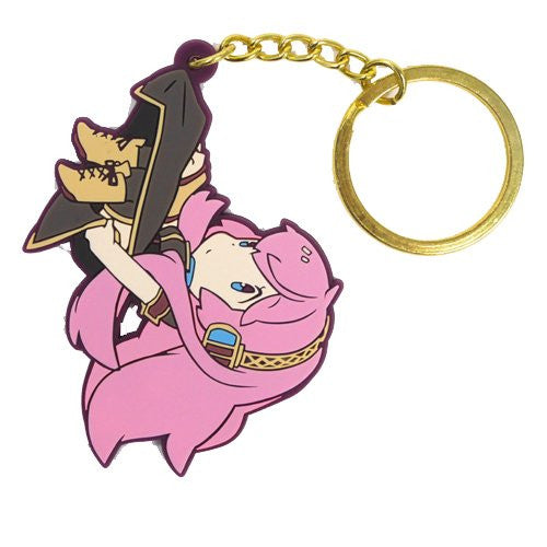 Image 1 for Vocaloid - Megurine Luka - Tsumamare - Rubber Keychain - Keyholder (Cospa)