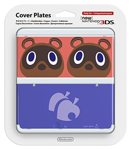 Image for New Nintendo 3DS Cover Plates No.014 (Animal Crossing Mamekichi and Tsubukichi) Slight damage on package
