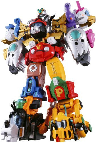 Image 1 for Disney - Daisy Duck - Donald Duck - Goofy - Mickey Mouse - Pluto - Chogokin - Chou Gattai King Robo Mickey & Friends (Bandai)