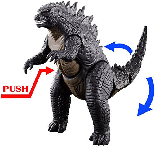 Image 2 for Godzilla (2014) - Gojira - Tail Strike (Bandai)
