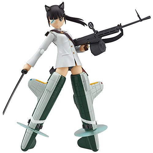 Image 1 for Strike Witches Movie - Sakamoto Mio - Figma #282 (Max Factory)