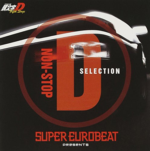 Image 1 for SUPER EUROBEAT presents Initial D Fifth Stage NON-STOP D SELECTION
