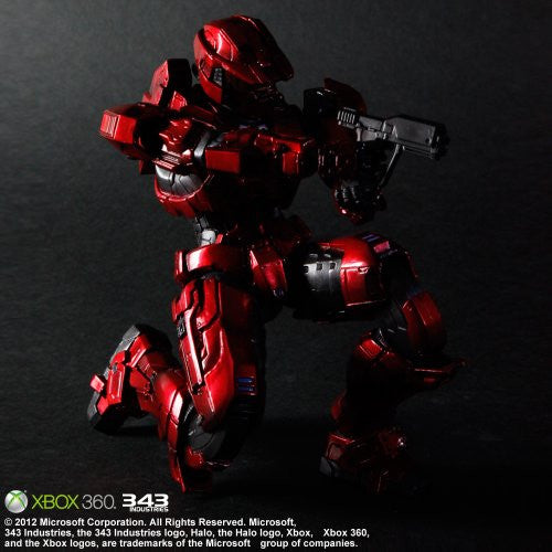 Image 3 for Halo: Combat Evolved - Spartan Mark V - Play Arts Kai - Red (Microsoft Square Enix)