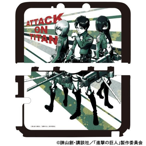 Image 3 for Shingeki No Kyojin Protect Case for 3DS LL (Army)
