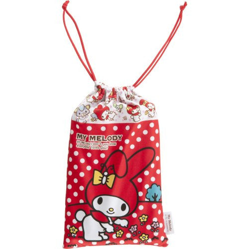 Image 3 for My Melody Pouch for 3DS LL (Red)