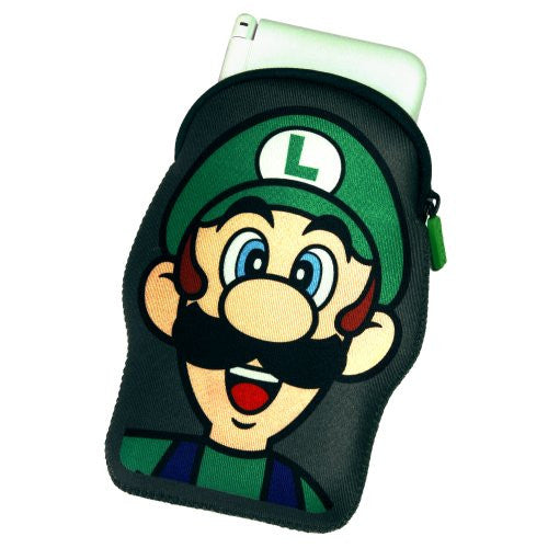 Image 2 for Neoprene Case for 3DS LL (Luigi)