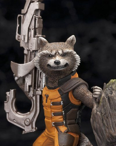 Image 6 for Guardians of the Galaxy - Groot - Rocket Raccoon - ARTFX+ - Guardians of the Galaxy ARTFX+ - 1/10 (Kotobukiya)