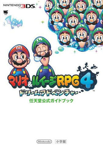 Image for Mario & Luigi Rpg 4 Dream Team Nintendo Official Guide Book / 3 Ds