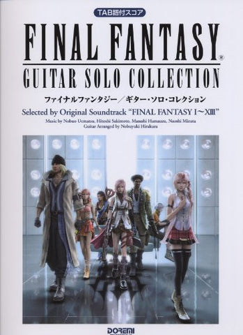 Image for Final Fantasy   Solo Guitar