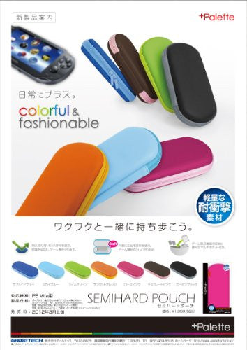 +Palette Semi Hard Pouch for PS Vita (Sapphire Blue)