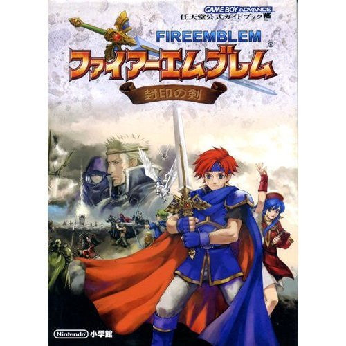 Image 1 for Fire Emblem The Binding Blade Official Strategy Guide Book / Gba