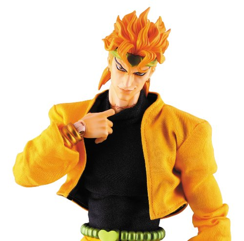 Image 6 for Jojo no Kimyou na Bouken - Stardust Crusaders - Dio Brando - Real Action Heroes #485 - 1/6 (Medicom Toy)