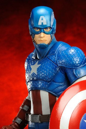 Image 6 for The Avengers - Captain America - ARTFX+ - Marvel The Avengers ARTFX+ - 1/10 (Kotobukiya)