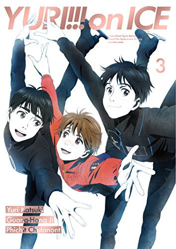 Image 1 for Yuri!!! on Ice - Vol. 3 - Limited Edition (Blu-Ray)