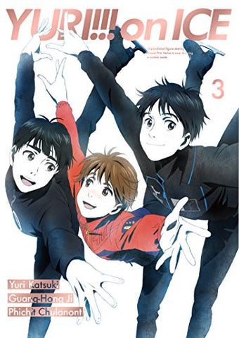 Image for Yuri!!! on Ice - Vol. 3 - Limited Edition (Blu-Ray)