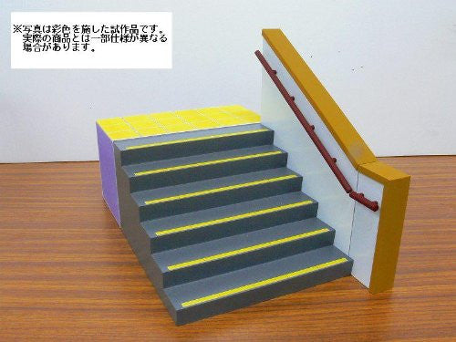Image 1 for 1/12 Figure Scenery Set Series - School Staircase - 1/12 (Skynet)