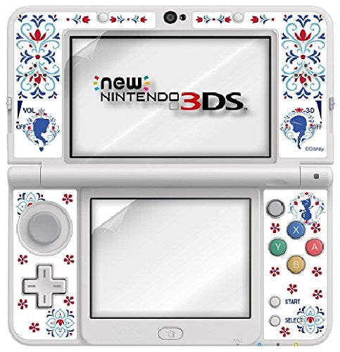 Image 2 for Protection Filter Decoration Seal Set for New Nintendo 3DS (Anna & Elsa)