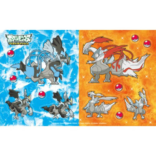 Image 3 for Pocket Monster Card Case 6 Seal Set for Nintendo 3DS (Black Kyurem Version)