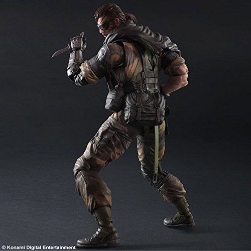 Image 3 for Metal Gear Solid V: The Phantom Pain - Naked Snake - Play Arts Kai - Splitter ver. (Square Enix)