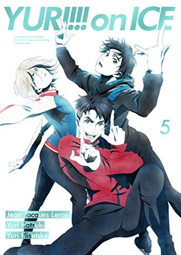 Image 1 for Yuri!!! on Ice - Vol. 5 - Limited Edition (Blu-Ray)