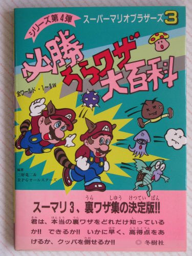 Super Mario Bros. 3 Hisshou Secret Code Encyclopedia Art Book / Nes