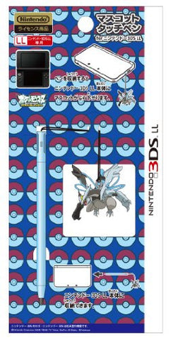 Image for Mascot Touch Pen for 3DS LL (Black Kyurem Over Drive)