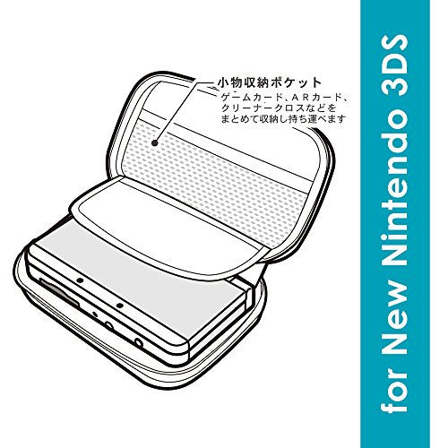 Image 3 for Trunk Case for New 3DS (Blue)