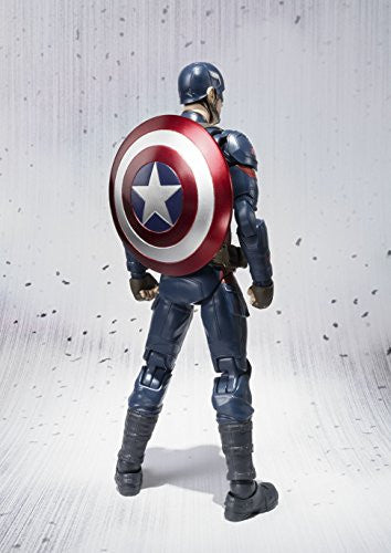 Image 9 for Captain America: Civil War - Captain America - S.H.Figuarts (Bandai)