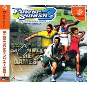 Power Smash 2: Sega Professional Tennis