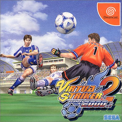 Image for Virtua Striker 2: Version 2000.1