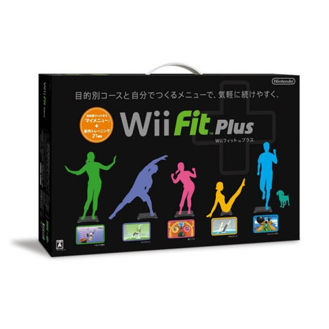 Image for Wii Fit Plus (w/ Wii Board black)