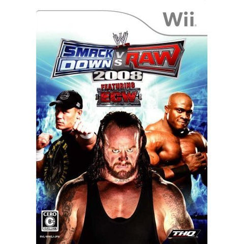 Image for WWE Smackdown Vs. RAW 2008