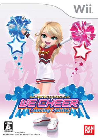 Image for We Cheer: Dancing Spirits!